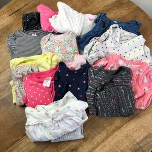 Carter's Baby Girl Outfit, Jackets, Pants, Rompers
